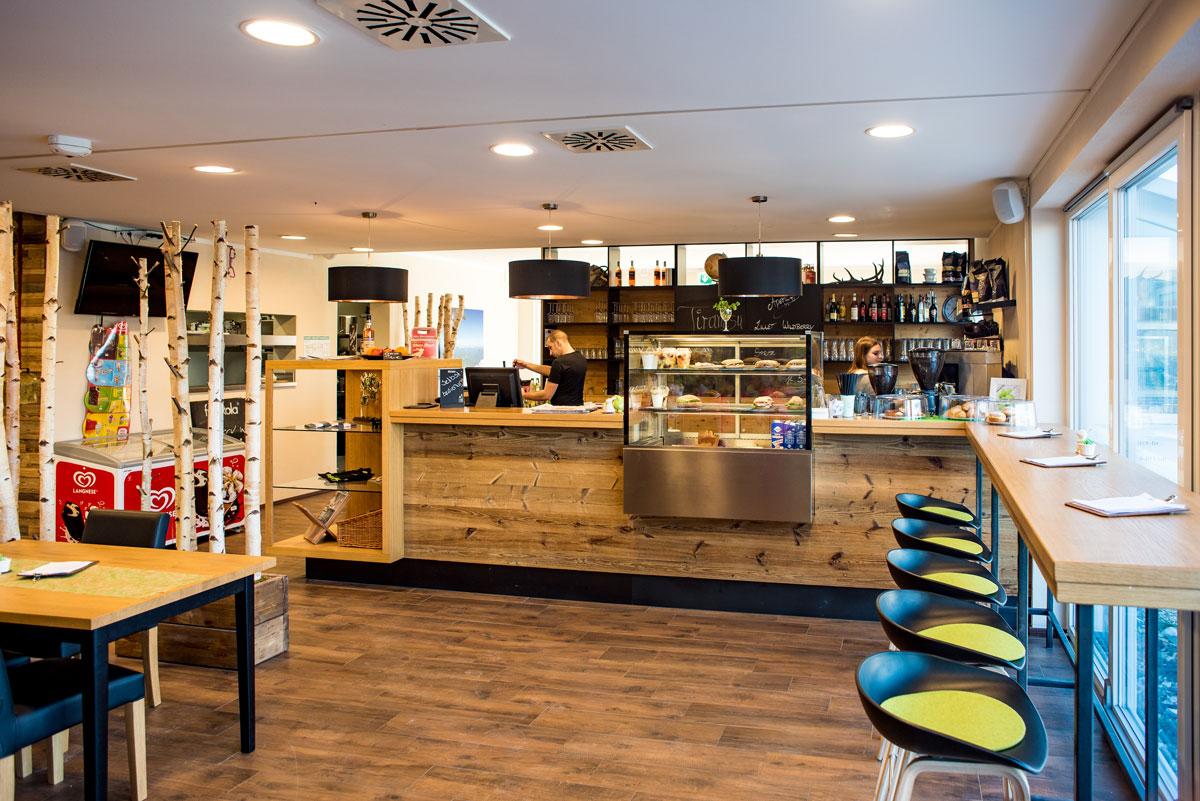 Restaurant und Café - Die Kletterei