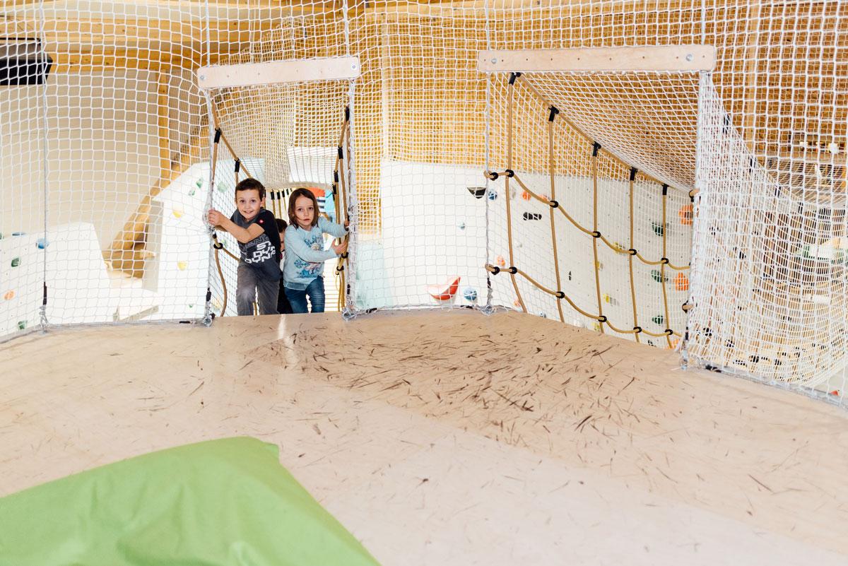 Ein Paradies für Kinder - Die Kletterei